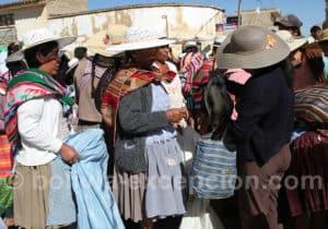 Le mardi au marché de Punata...