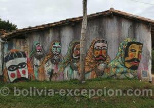 Santa Cruz de La Sierra, art de rue
