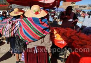 Cliza, vallée de Cochabamba