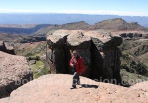 Formations géologiques de la Ciudad de Itas