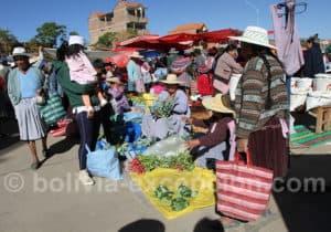 Emplettes au marché de Cliza