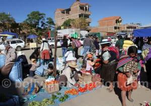 Visite du marché de Cliza