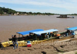 Fleuve Beni à Rurrenabaque