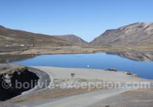 La Cumbre, départ du trek El Choro
