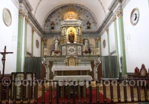 Cœur du couvent San Jose de Tarata