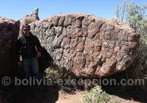 Ciudad de Itas, formations rocheuses