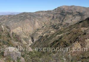 Paysage andin, région de Potosi