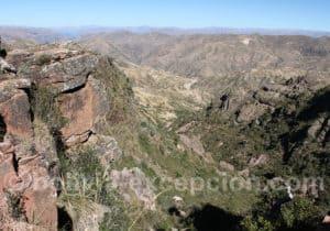 Paysage de la cordillère bolivienne