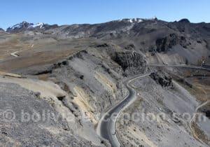 Route de La Cumbre à Coroico