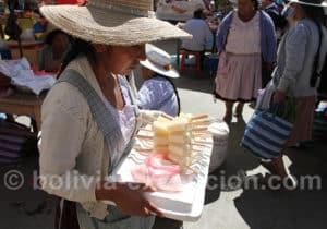 Marchande de glaces à Punata
