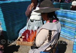 Marchande de gelée à Punata