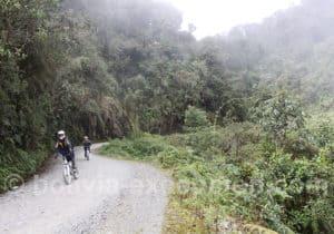 Route de la Muerte en VTT, Bolivie
