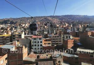 Ligne de téléphérique Morada, La Paz