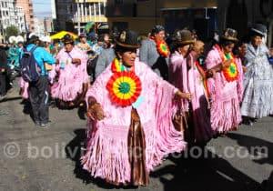 Danse folklorique, fête du Gran Pouvoir