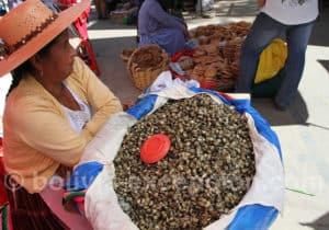 Mercado de papas à Punata