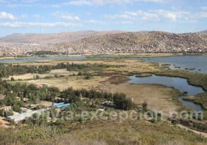 Panorama depuis le Christ de Cochabamba