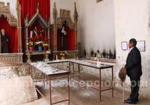 Recueillement au couvent San Jose de Tarata