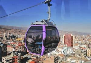 Découverte de La Paz en télécabine