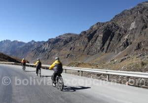 Sortie vélo La Cumbre, Route de Le Mort, Coroico
