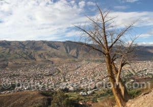 Cochabamba depuis le Christ de la Concorde