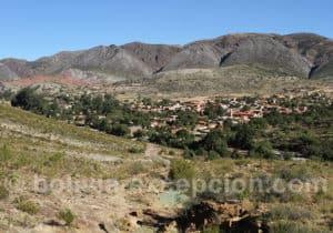 Panorama sur la ville de Toro Toro
