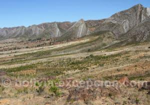 Formations géologiques du parc Torotoro