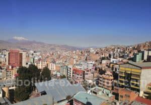 Les toits de La Paz depuis le téléphérique