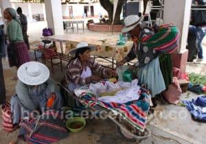 Marché traditionnel de Tarata