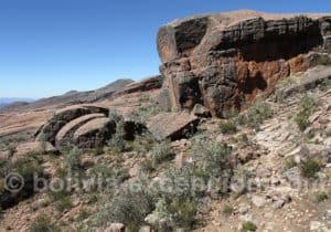 Formations rocheuses de la Ciudad de Itas