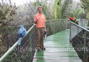 Le biocentre de Güembé : faune et flore d'Amazonie
