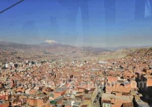 Découverte de La Paz en téléphérique
