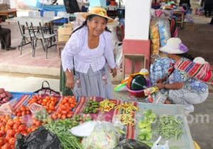 Marché aux fruits et légumes de Tarata