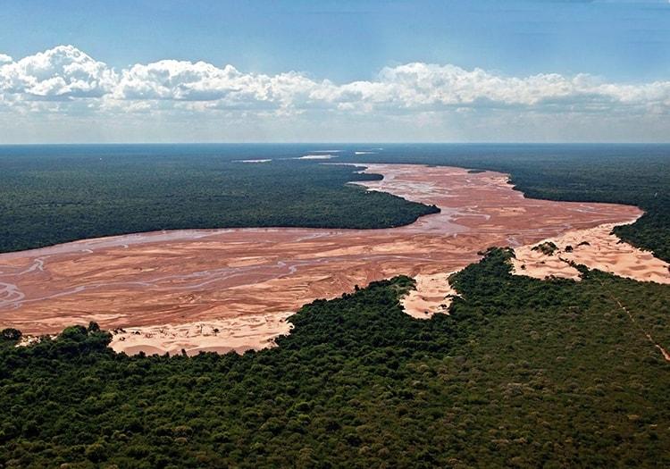 Bañados de Isoso et rio Parapeti