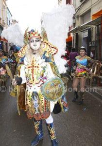 Carnaval Bolivie masque