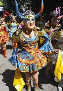 Carnaval Fiesta Bolivie