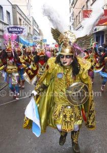 Masque en fête à Oruro