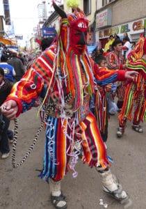 Masques traditionnels de Bolivie