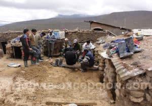 Une des entrées de la mine de Potosi