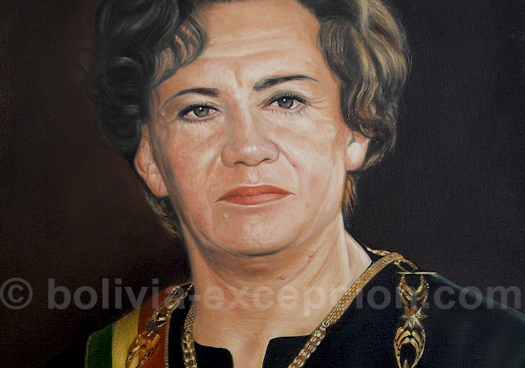 Lidia Gueiler Tejada 1979 a 1980