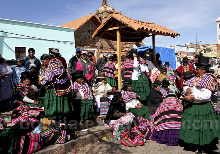 La communauté Aymara en Bolivie