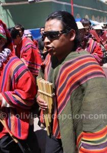 Couleurs et musique à Oruro
