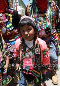 Oruro, célébration de tout âge