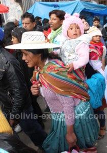 Paysanne à Oruro