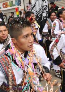 Carnaval a lieu en l'honneur de la Vierge de la Mine