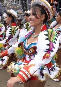 Carnaval en l'honneur de la Virgen de la Candelaria