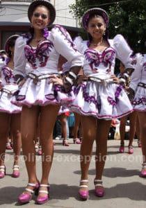 Carnaval d'Oruro, parcours de quatre kilomètres