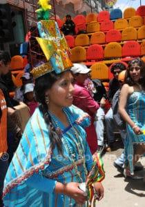 Danseuse inca, Oruro