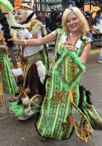 Carnaval célébré dans la ville de Oruro