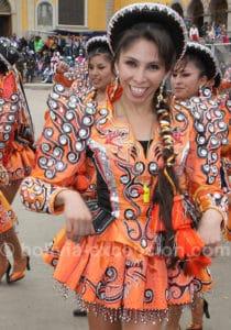 Venir au carnaval d'Oruro