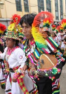 Oruro en février
